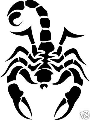 Scorpion Tribal Tattoo Version (6)
