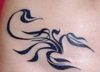 Scorpion Tribal Tattoo