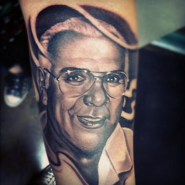 Senior People Portrait Tattoo