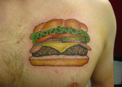 real-looking-cheese-burger-tattoo-on-chest.jpg