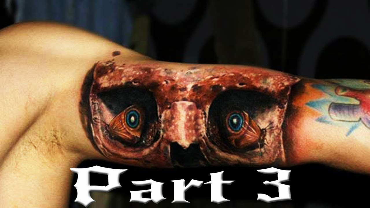 OMG Amazing Horror 3D Tattoo For Arm