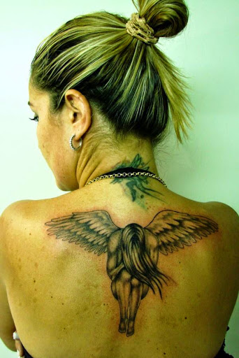 best memory angel tattoo