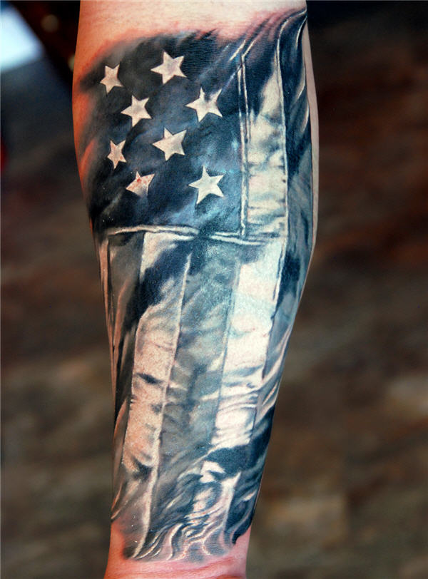 american army tattoo on arm