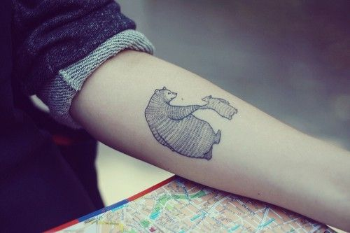 best bear tattoo