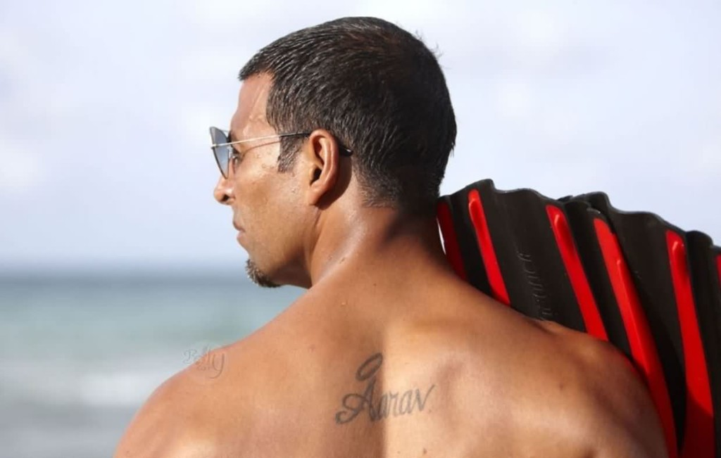 Celebrity akshay Tattoos