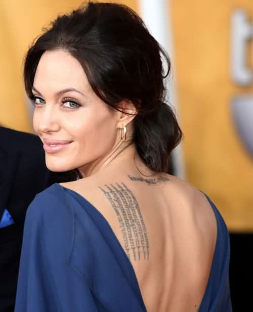 Celebrity angelAina Tattoos