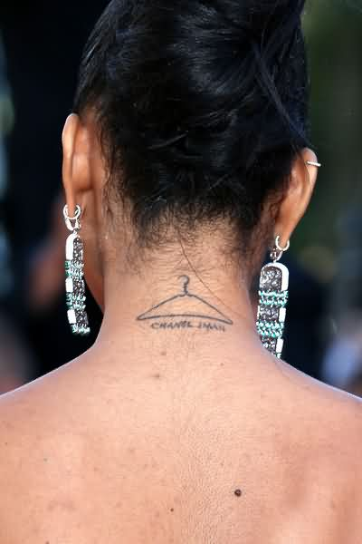 Celebrity chanel iman Tattoos