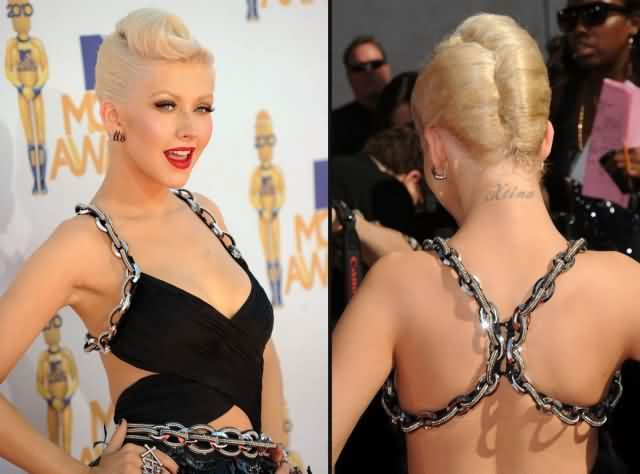 Celebrity christina aguilera Tattoos