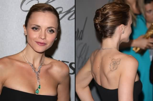 Celebrity christina ricci Tattoos