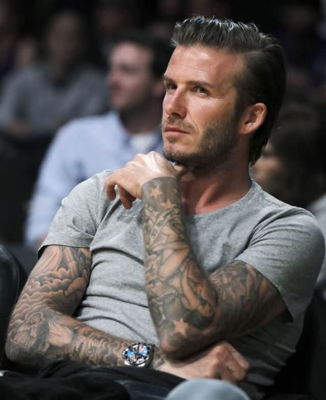Celebrity devid beckham Tattoos