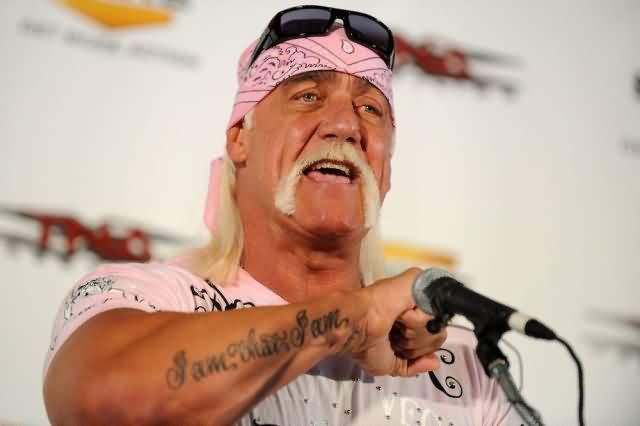 Celebrity hulk hogan Tattoos