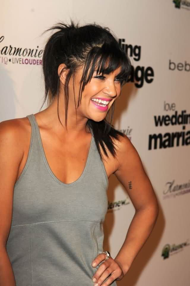 Celebrity jessica szohr Tattoos