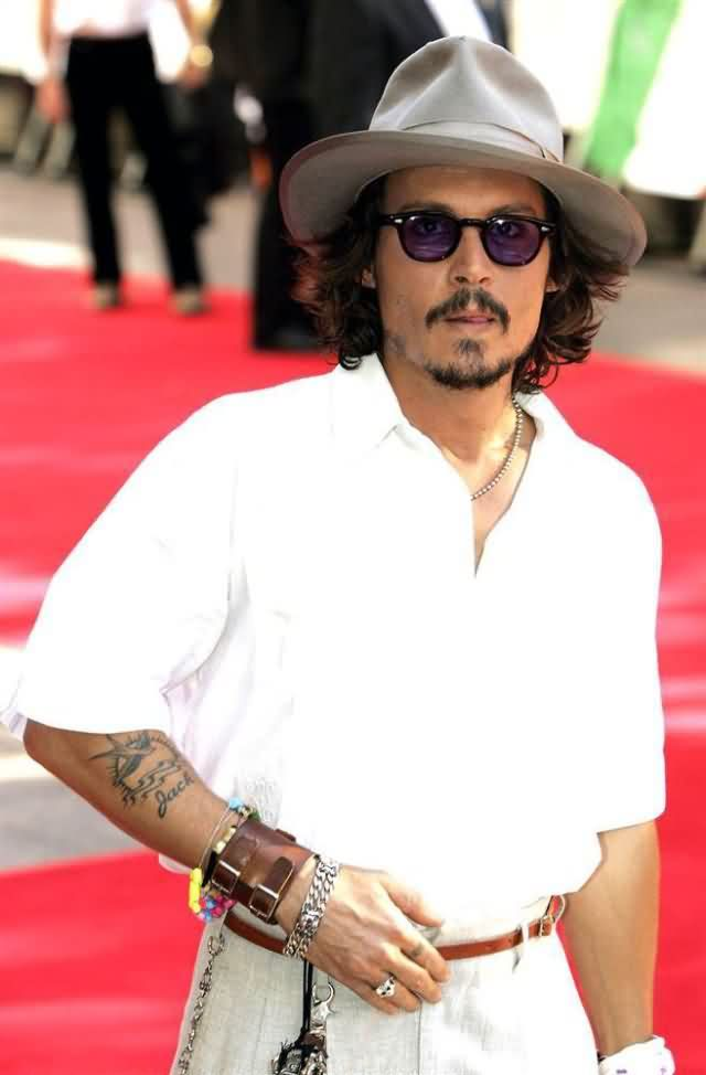 Celebrity johnny depp Tattoos