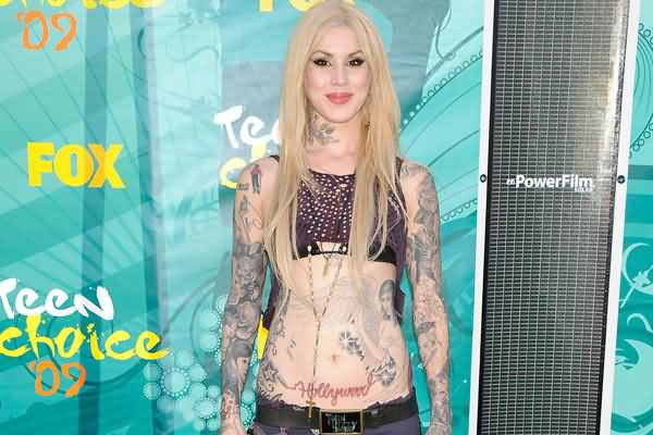 Celebrity kat von d Tattoos