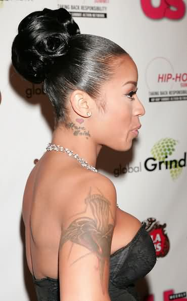 Celebrity keyshia cole Tattoos