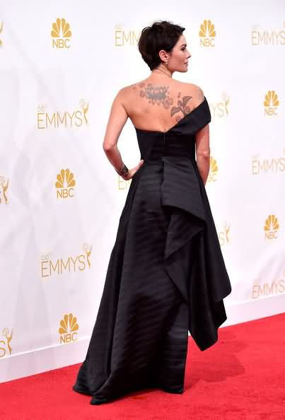 Celebrity lena headey Tattoos