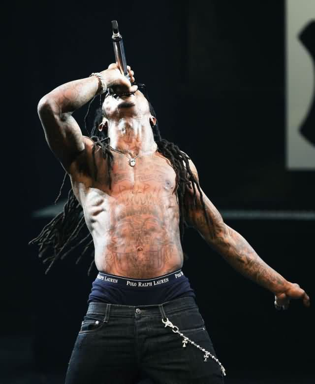 Celebrity lil wayne Tattoos