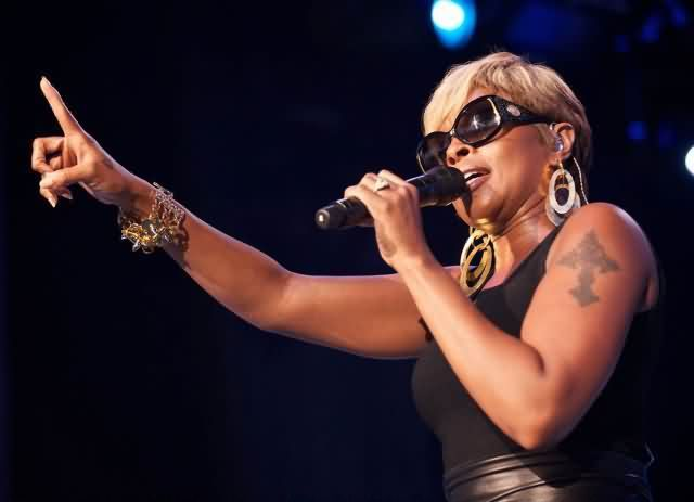 Celebrity mary j blige Tattoos