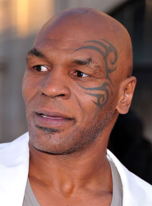 Celebrity mike tyson Tattoos