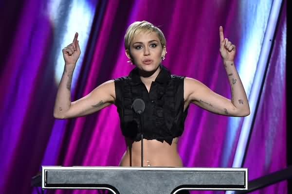 Celebrity miley cyrus Tattoos