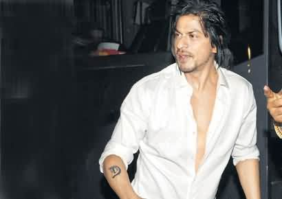 Celebrity shah rukh khan Tattoos