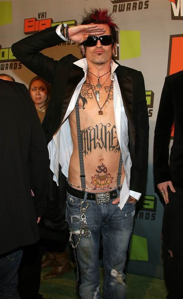 Celebrity tommy lee Tattoos