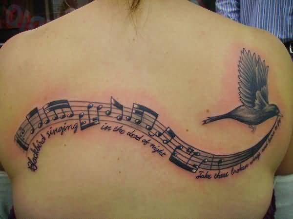 brilliant music tattoo
