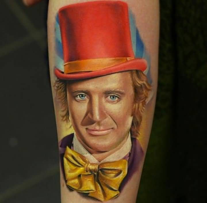 Portrait Tattoo John Nemesis Anderton