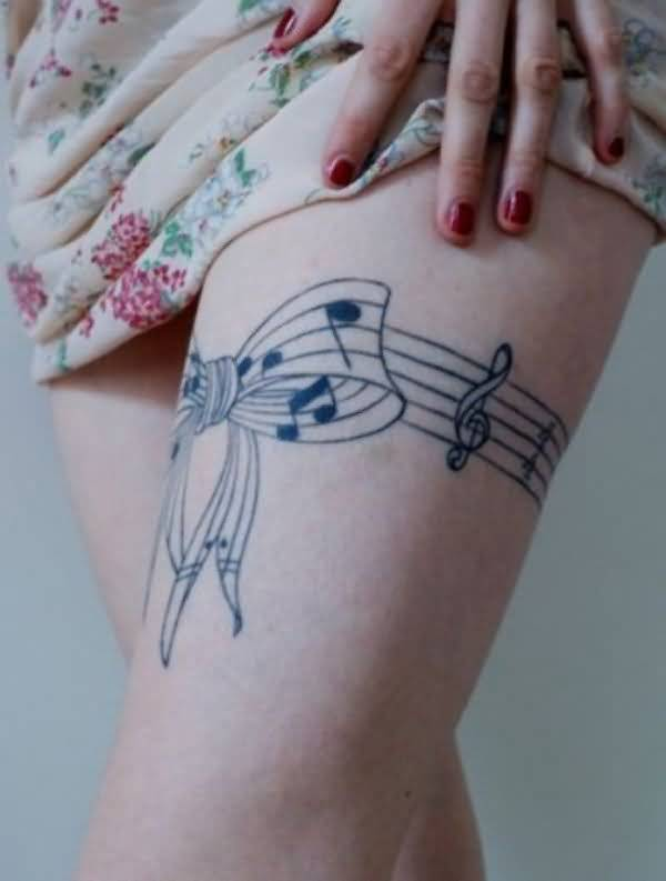 bow leg tattoo