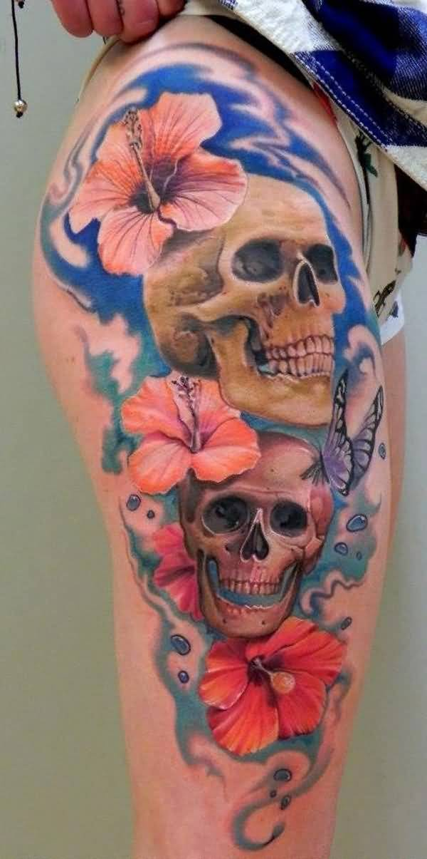 horrible leg tattoos