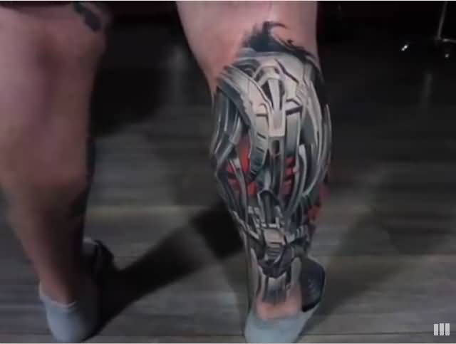 mechanical leg art