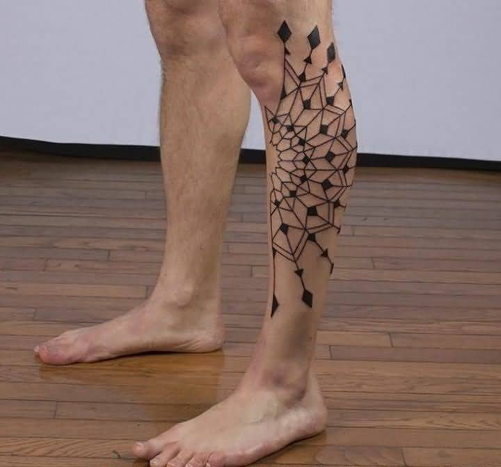 this is leg tattoo