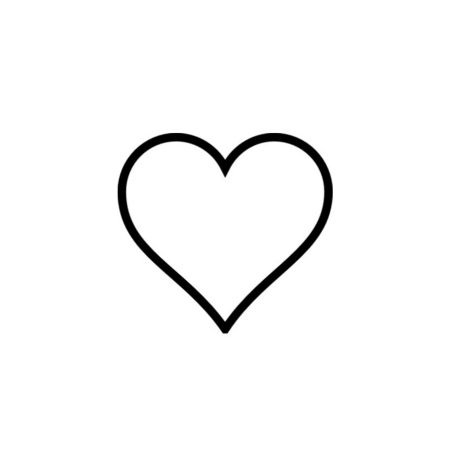 Black Ink Small Perfect Heart Tattoo Design Idea