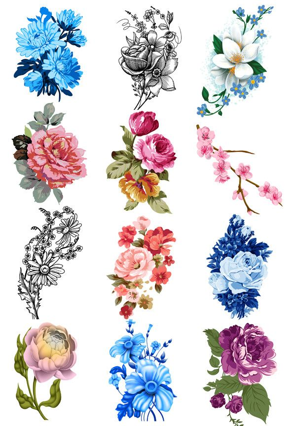 Floral Tattoos Designs And Ideas