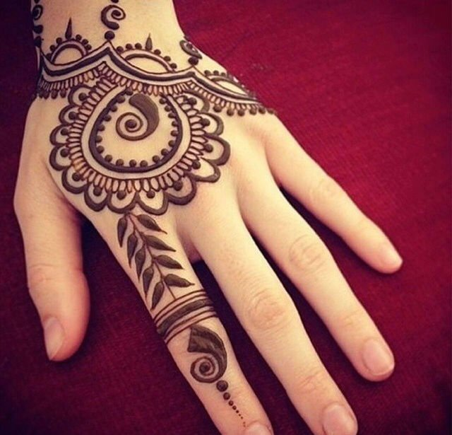Mind Blowing Henna Tattoo Art On Women Hand