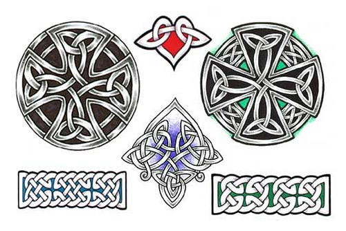 Various Celtic Knot Tattoo Designs