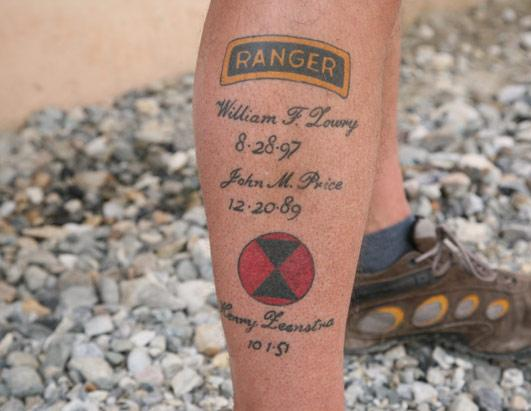 army ranger tattoo