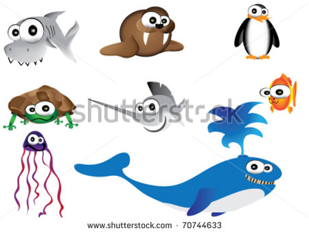 All Design Of Funny Sea Creature Tattoo