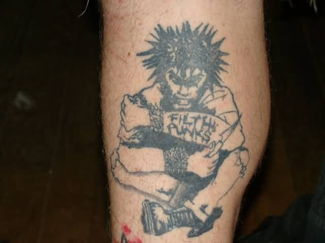 Amazing And Fantastic Punk Tattoo Design Idea