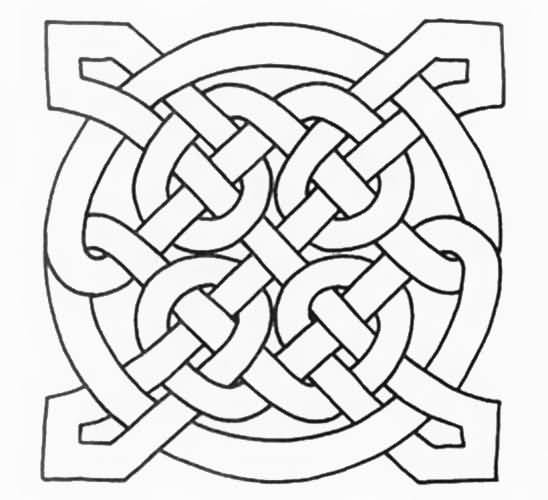 Celtic Style Nice Endless Knot Tattoo