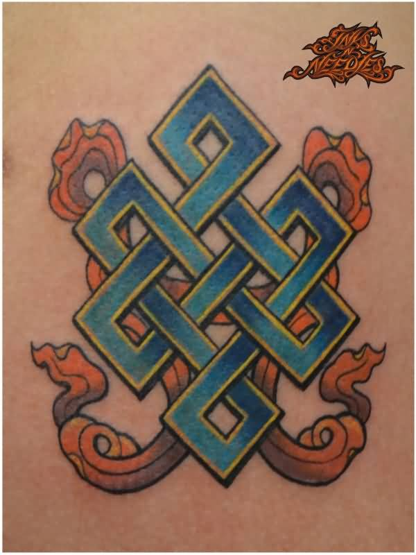 China City Nice Endless Knot Tattoo