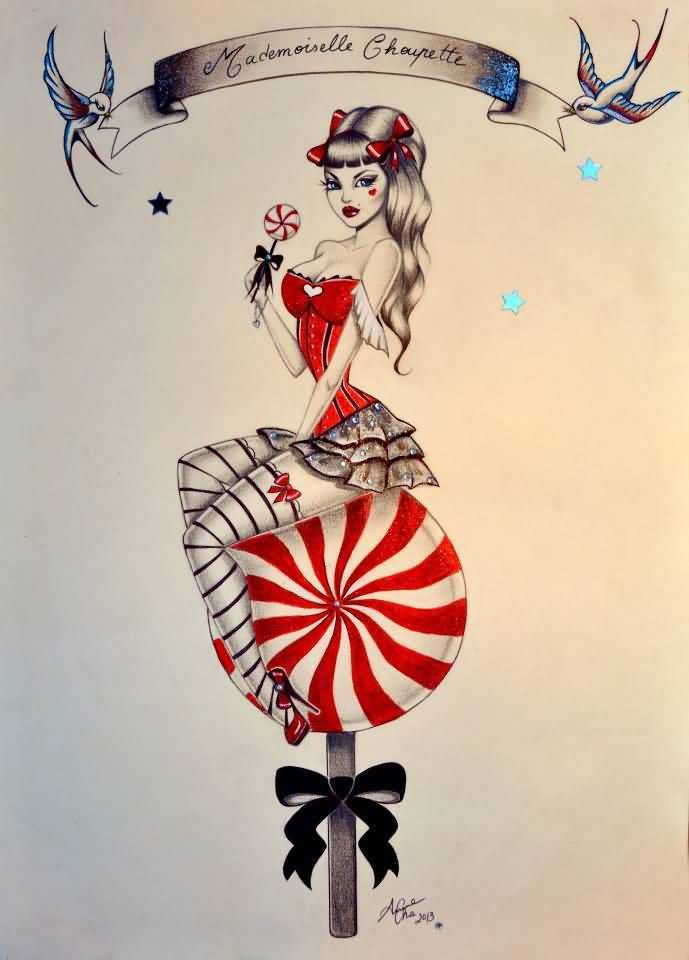 Pin Up Tattoos Designs And Ideas Page 4