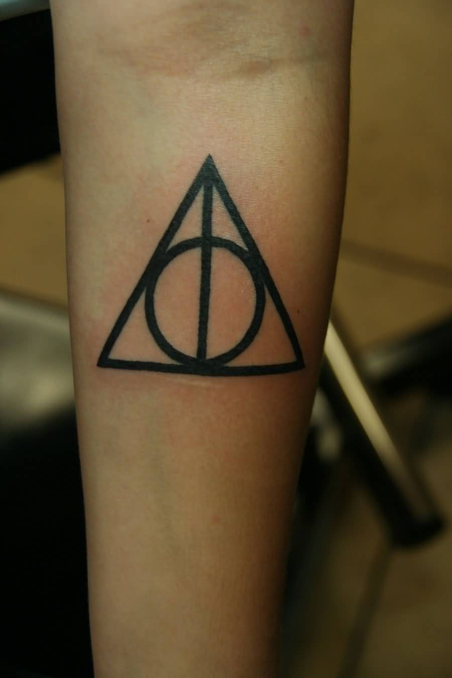 Dbashaun Design A Amazing Black Ink Hallows Tattoo