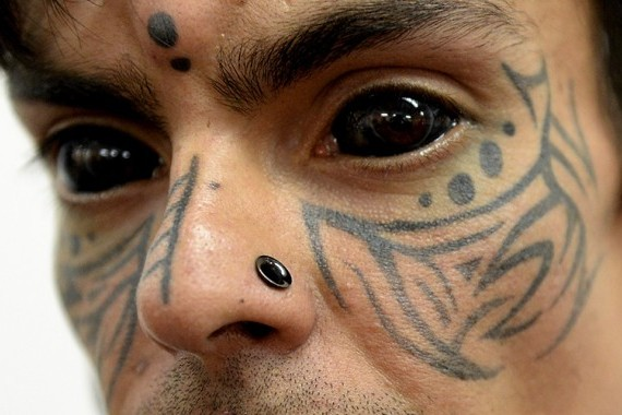 Eye Ball Extreme Tattoo Design For Men