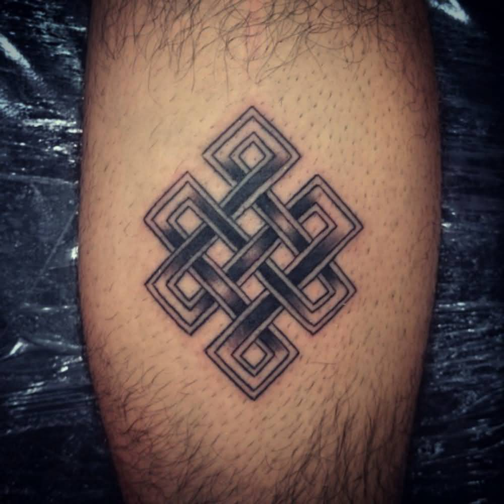 Fantastic And Classy Cool Endless Knot Tattoo