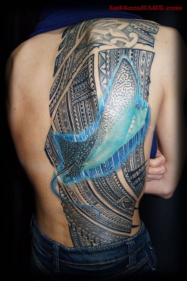 Full Back Samoan Tattoo