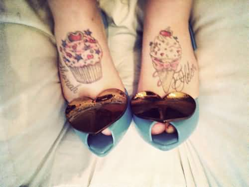 Gir Foot Nice Ice Cream Tattoo