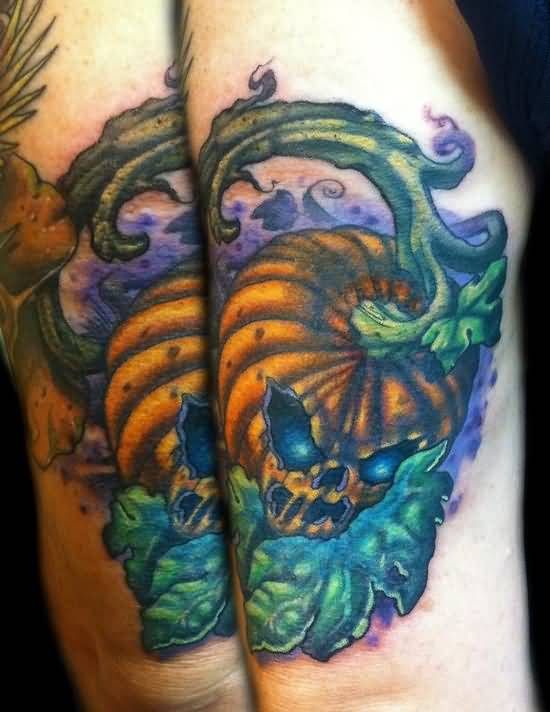 Jack O Nice Lantern Tattoo Design Idea