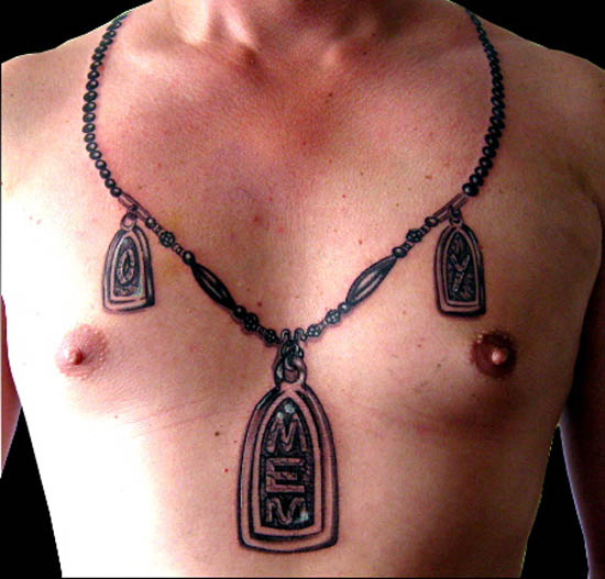 Nice Amulet Necklace Pandent Tattoo