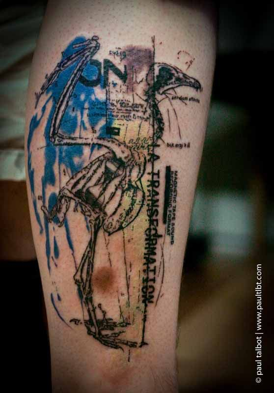 Nice And Amazing Biology Science Tattoo